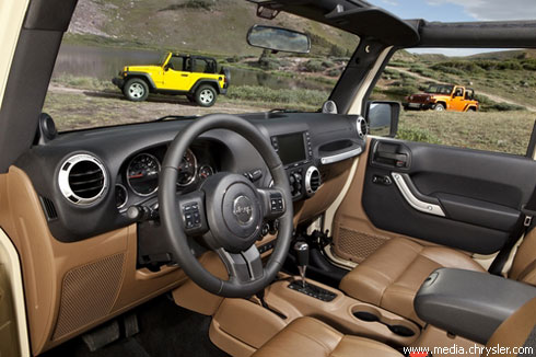 """Chrysler"" обновил ""Jeep Wrangler"""
