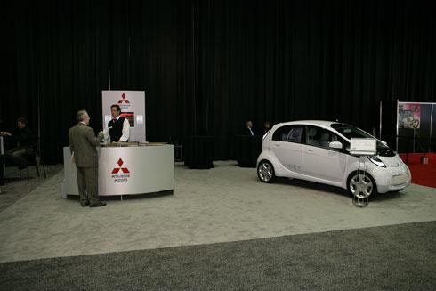 """Автошоу в Париже - 2010: премьеры """"Mitsubishi"""""""