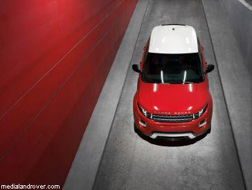 """Land Rover"" представил пятидверный ""Evoque"""