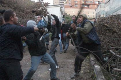 Строительный конфликт в центре Киева