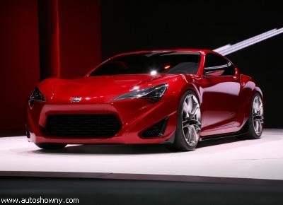 """""""Toyota"""" представила концепт спорткара FR-S"""