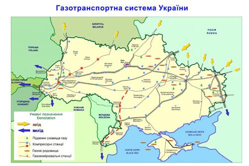 газотранспортную систему