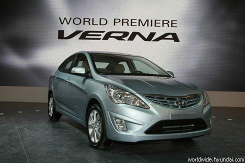"""Hyundai"" представил в Пекине наследника ""Accent"" (фото)"