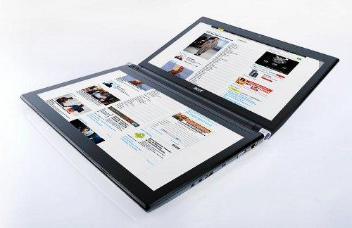 """""""Acer"""" показала планшеты и тачбук с двумя дисплеями"""