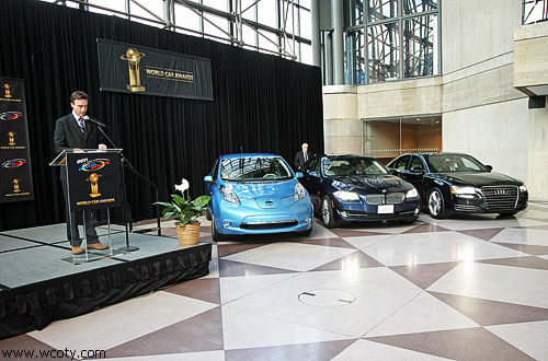 """В Нью-Йорке назвали """"Автомобиль года-2011"""""""