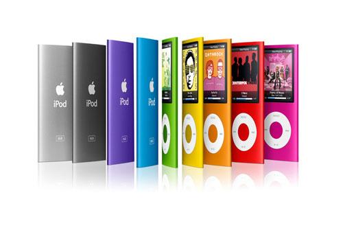"""""""Apple"""" показала новые """"iPod"""""""