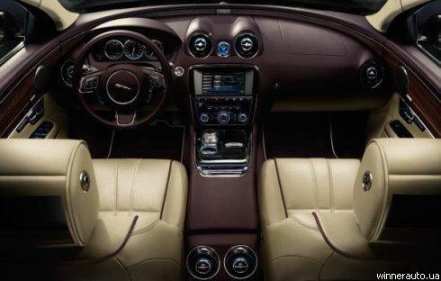 """""""Jaguar"""" рассекретил стоимость нового XJ в Украине"""
