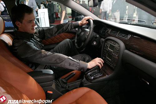 """Jaguar"" отметился на ""Kyiv Automotive Show"""