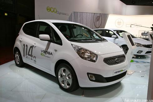 """""""Paris Motor Show-2010"""": премьеры """"Kia"""""""