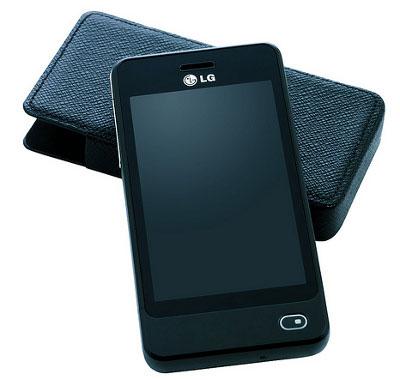 LG показала в Украине телефон на солнечной энергии (фото)