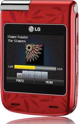 LG показала два сенсорных телефона