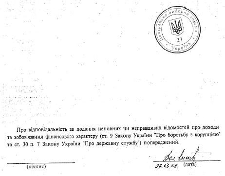 Литвин зберігає гроші у різній валюті. Декларація кандидата в президенти