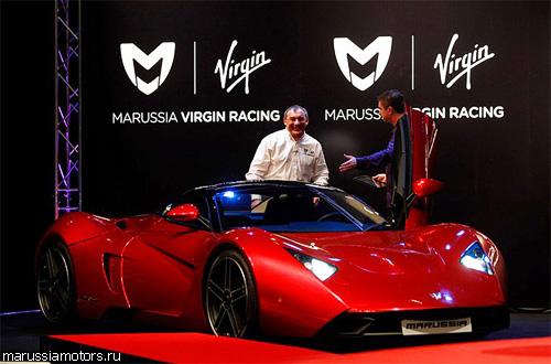 """""""Marussia"""" откроет производство в Европе в 2012 году"""