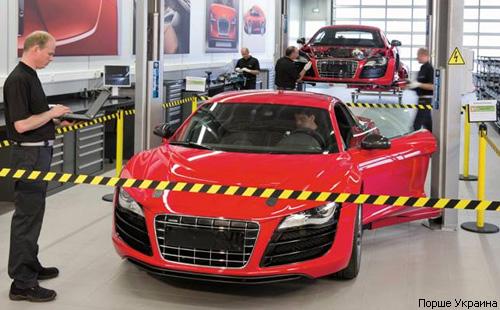 Audi готовит к серийному выпуску электрокар R8 e-tron