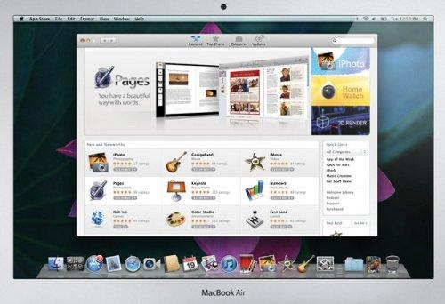"""""""Apple"""" показала новые """"MacBook Air"""" и детали """"Mac OS X Loin"""""""