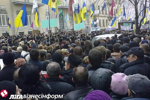 Знову Майдан: малий бізнес вимагає президентського вето
