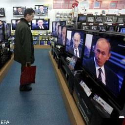 Россияне верят ТВ, а не зарубежным СМИ