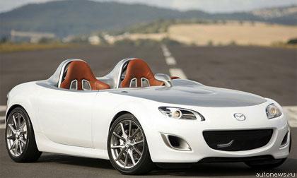 """""""Mazda"""" показала концепт на базе MX-5"""