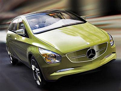 "Первые фото ""Mercedes-Benz"" B-Class"