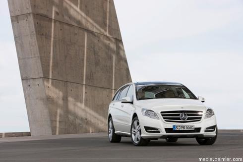 """""""Mercedes Benz"""" R-Class: новые фото"""