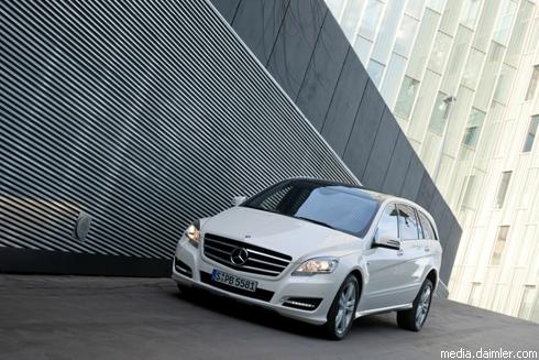 """Премьеры """"Mercedes-Benz"""" на Московском автошоу (фото)"""