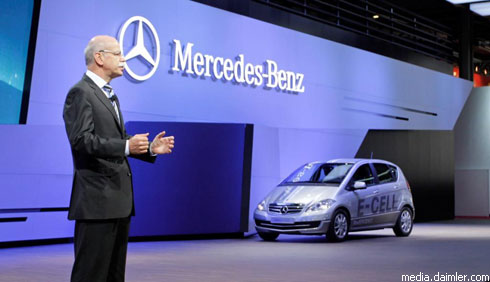 """Daimler"" на автошоу в Париже"