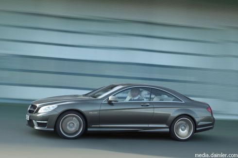 """Mercedes"" представил ""заряженное"" купе ""CL 63 AMG"""