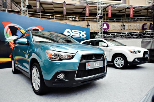 """Mitsubishi ASX"" официально презентовали в Украине"