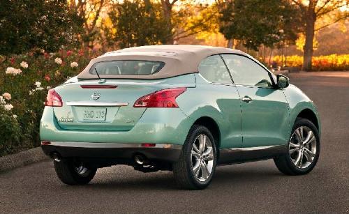 """""""Nissan"""" удивил Лос-Анджелес кабриолетом """"Murano"""""""