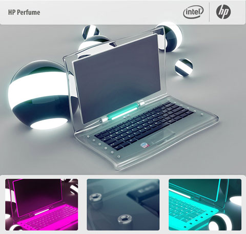 ноутбук HP Perfume - фото сайта biz.liga.net