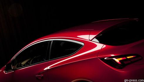 """""""Opel"""" готовит премьеру концепта """"GTC Paris"""""""