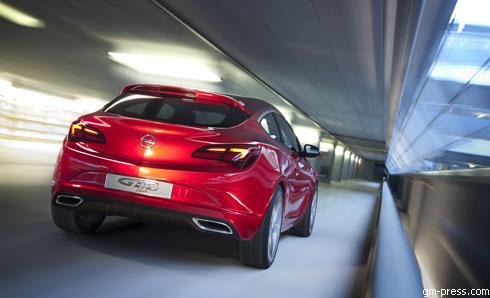 """""""Opel"""" GTC Paris: новые фото"""