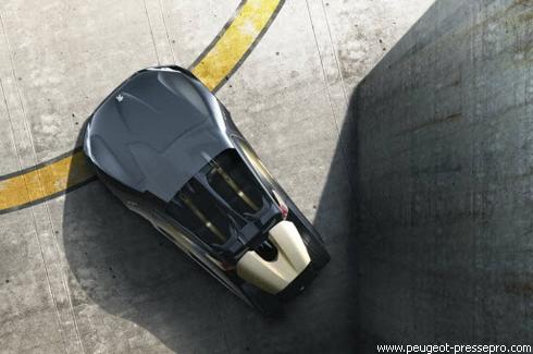 """Peugeot"" представил футуристический EX1"