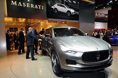 Первый внедорожник Maserati: живые фото из Франкфурта