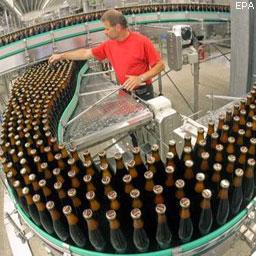 Пиво теряет объемы производства и продаж