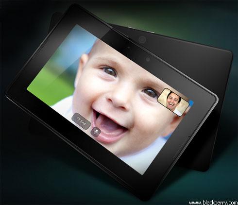 """Как выглядит планшет """"BlackBerry"""""""