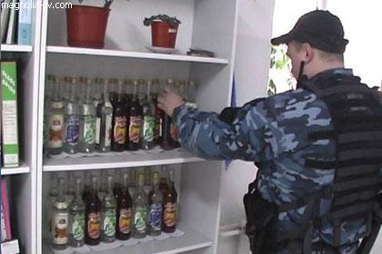В Украине разоблачили сеть по производству поддельной водки
