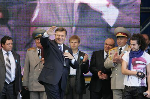 Виктор Янукович - музыкант плагиат