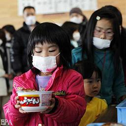 Япония тестирует еду на радиоактивность