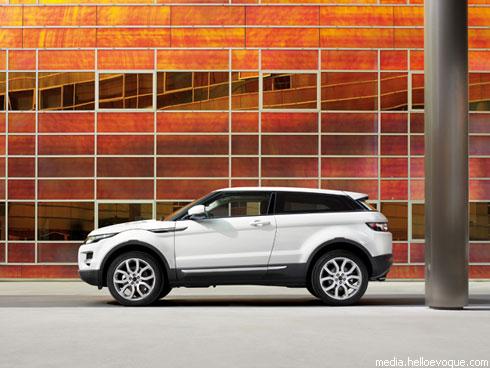 """Land Rover"" раскрыл подробности о новом кроссовере ""Evoque"""