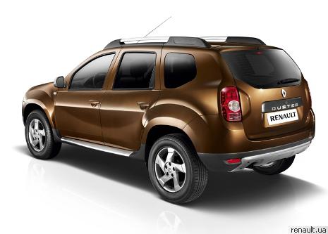 """В Украине стартовали продажи внедорожника """"Renault Duster"""""""