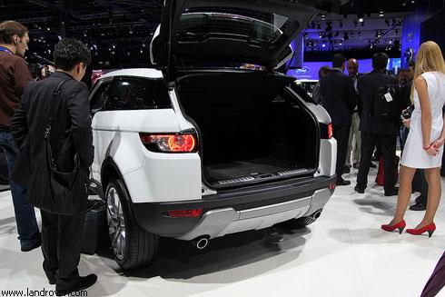 """""""Range Rover Evoque"""": премьера в Париже"""