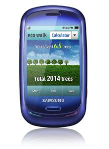 Samsung начал продажи телефона с солнечной батареей