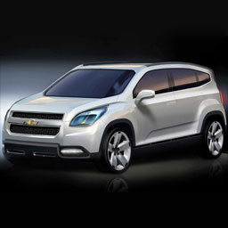"Опубликовано фото минивэна ""Chevrolet Orlando"""