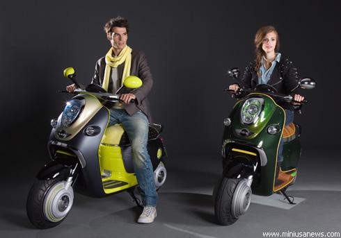 """""""Mini"""" представил электрический скутер """"MINI"""" Scooter E Concept"""