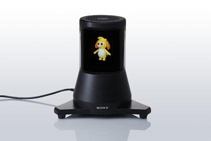 """""""Sony"""" представит дисплей в виде цилиндра"""
