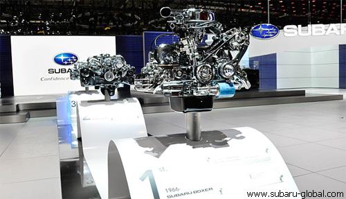 """Женевский автосалон-2011: премьеры """"Subaru"""""""
