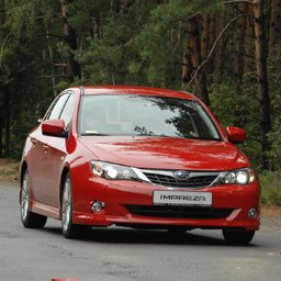 """В Украине презентовали """"Subaru"""" 2009 модельного года"""