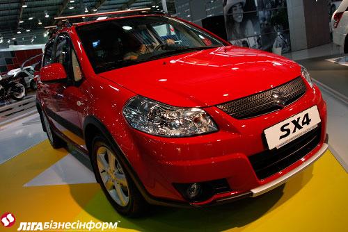 """Новинки """"Suzuki"""" на столичном автошоу"""