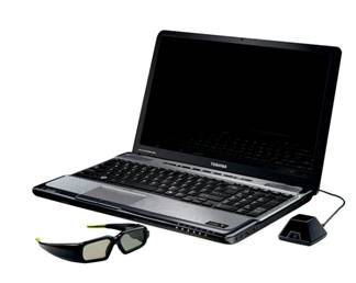 """""""Toshiba"""" показала ноутбук с поддержкой """"Blu-ray 3D"""" (фото)"""